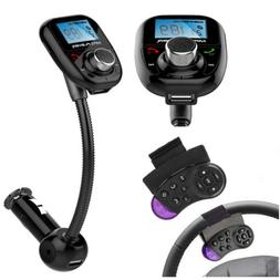 Steering Wheel Control+Car Kit Bluetooth MP3 Player FM Trans