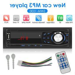 SWM-1033 1 DIN Car Stereo MP3 Player Radio AUX TF Card U Dis