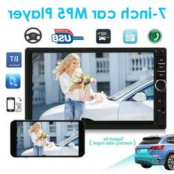 "SWM 2DIN 7"" Bluetooth Car Stereo MP5 Player USB2.0 FM Radio"