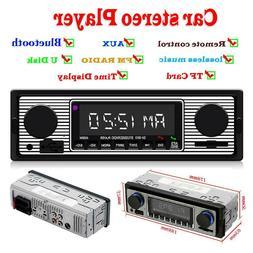 SWM 5513 LCD Car Stereo MP3 Player FM Radio Bluetooth 4.0 US