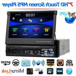 SWM 7'' Single 1Din Car HD Stereo MP5 DVR Player RDS AM FM R