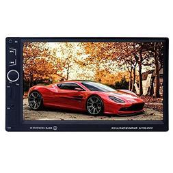 SWM 8011G 7in HD IPS 2 Din Bluetooth In-dash Car Auto MP5 Pl