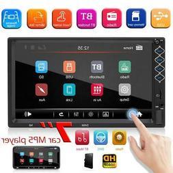 SWM N8 2 DIN Car Stereo MP5 Player 7 inch TFT Screen Bluetoo