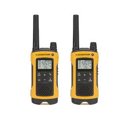 Motorola Talkabout T400 Rechargeable Two-Way Radio Pair Yell