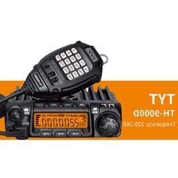 TYT TH-9000D Mobile Car 60W Amateur Ham Radio Transceiver 22