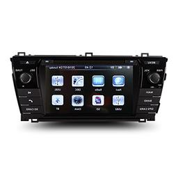 7 Inch Touch Screen Car GPS Navigation for TOYOTA Corolla 20