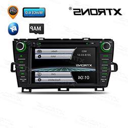 XTRONS 8 Inch HD Digital Touch Screen Car Stereo Radio in-Da