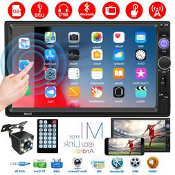 """Touch Screen 7"""" 2Din Car Radio MP5 Player Mirror Link Functi"""