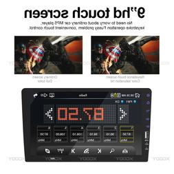 "Touch Screen Stereo Radio BT In-Dash Single 1 Din 9"" Car FM/"