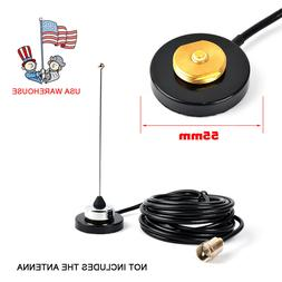 UHF/VHF NMO Mount Magnetic Base For Car Taxi Mobile Radio An