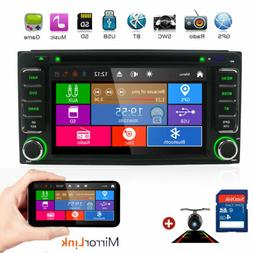Universal 6.2'' Car Radio GPS Navigation Media DVD Player fo