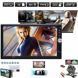 Universal 7inch 2 Din Car Multimedia Radio MP5 Player BT HD
