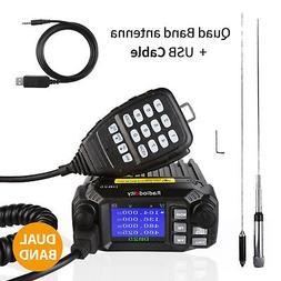 US! Radioddity DB25 Pro 25W Mobile Car Radio Transceiver V/U