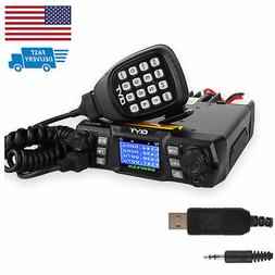 US QYT KT-980 *Plus* V/UHF 75W DTMF 5Tone FM Mobile Car Radi