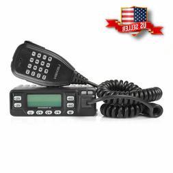 US Leixen VV-898E VHF UHF 136-174/400-480MHz 25W Car Mobile