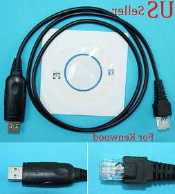 USB Programming Cable Cord for Kenwood T