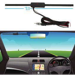 Windshield Car AM FM Radio Antenna Signal Amplifier Booster