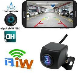 Wireless Backup Camera HD WIFI Rear View Camera for Car, Veh