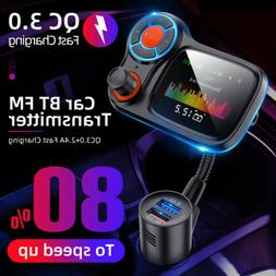 Wireless Bluetooth  FM Transmitter Car Radio Adapter Kit MP3