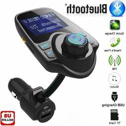Wireless Bluetooth FM Transmitter Radio Adapter Hands-free C