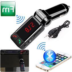 Wireless Bluetooth <font><b>Car</b></font> FM music Bluetoot