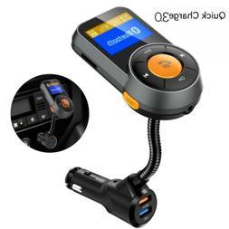 Wireless In-Car Bluetooth FM Transmitter MP3 Radio Adapter K