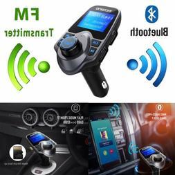 Wireless In-Car Bluetooth FM Transmitter USB Radio Adapter C