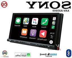 """Sony XAV-AX5000 6.95"""" CarPlay/Android Auto Media Receiver wi"""