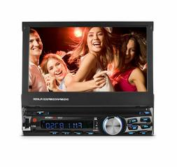 "XO Vision X358 7"" Single-din In-dash DVD Receiver With Bluet"